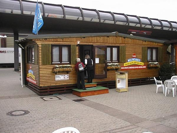 Energy saving mobile home As a world innvoation calls manufacturer Tobs his fiirst energy saving mobile home. Reason enough to examine the concept mobile home for living.