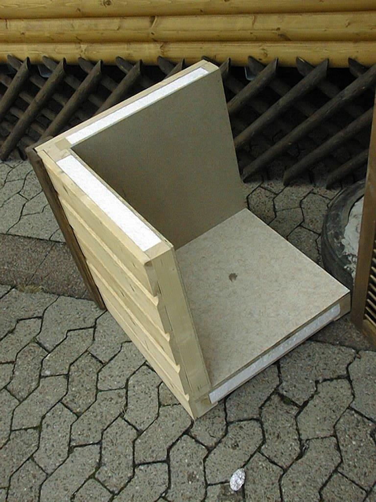 Bekannt Einfacher Wandaufbau von einem Mobilheim RD62