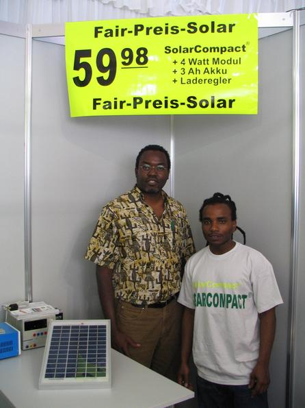 Electricity for Africa Electric power for people without public electricity net and minimal monthly income. SolarCompact has specialized in these people forgotten by the big companies.