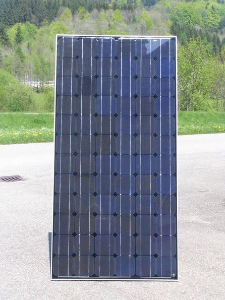 Combined modul photovoltaic solar collector Looks like a photovoltaic, delivers more electric power than a normal photovoltaic, because this modul delivers also heat at the same time and works so cooler.