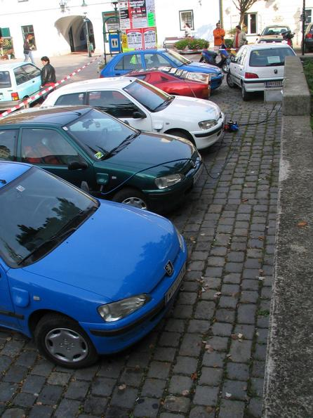 Electric cars in Vienna What was in the DDR the Trabi and in Romania the Dacia, that is at the electric car drivers from Vienna the Peugeot 106 electric