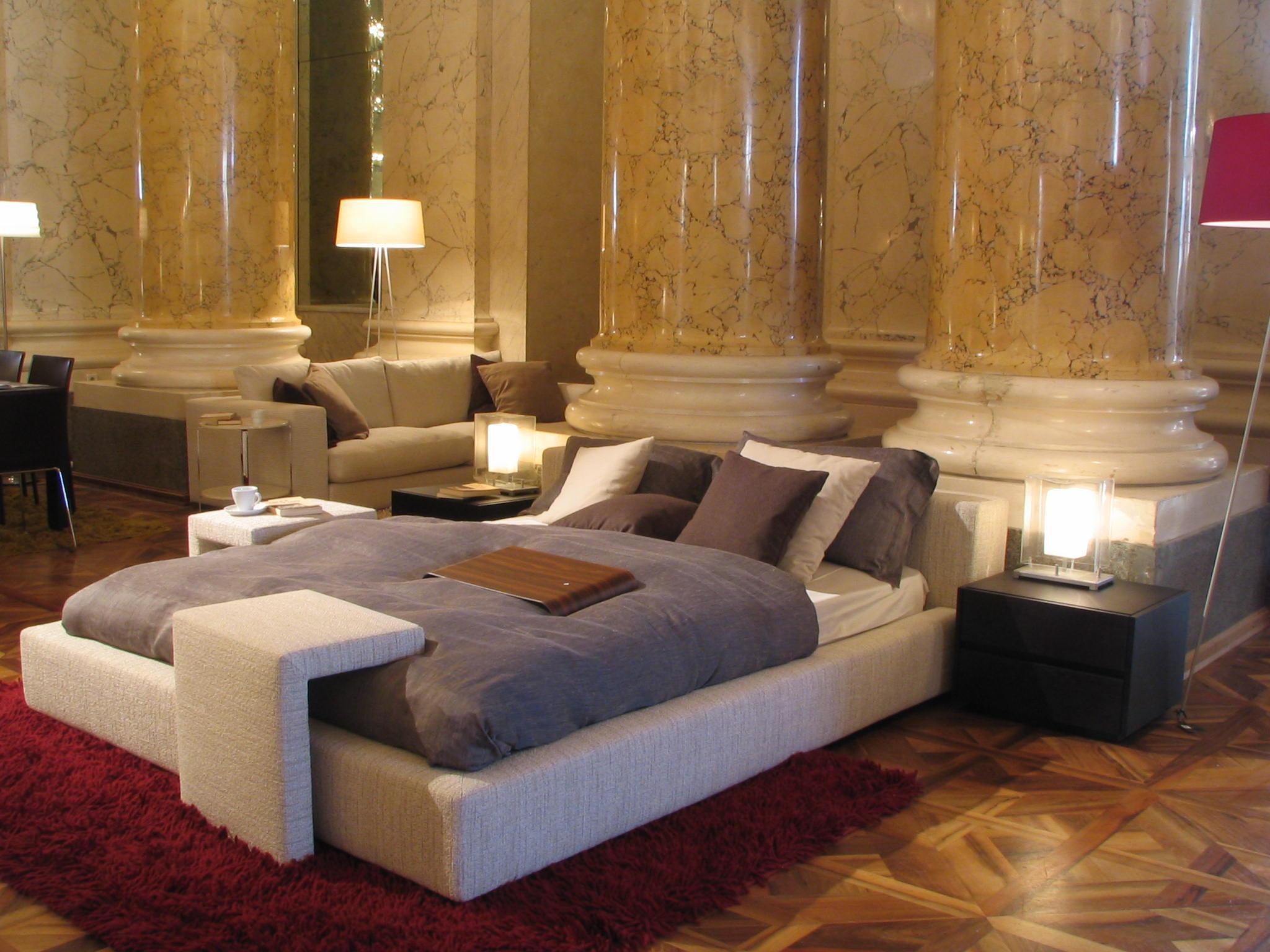 prinzessin auf der erbse doppelbett mit einer matratze. Black Bedroom Furniture Sets. Home Design Ideas