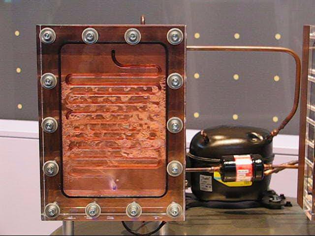 Kühlschrank Kompressor : In der wärmepumpe