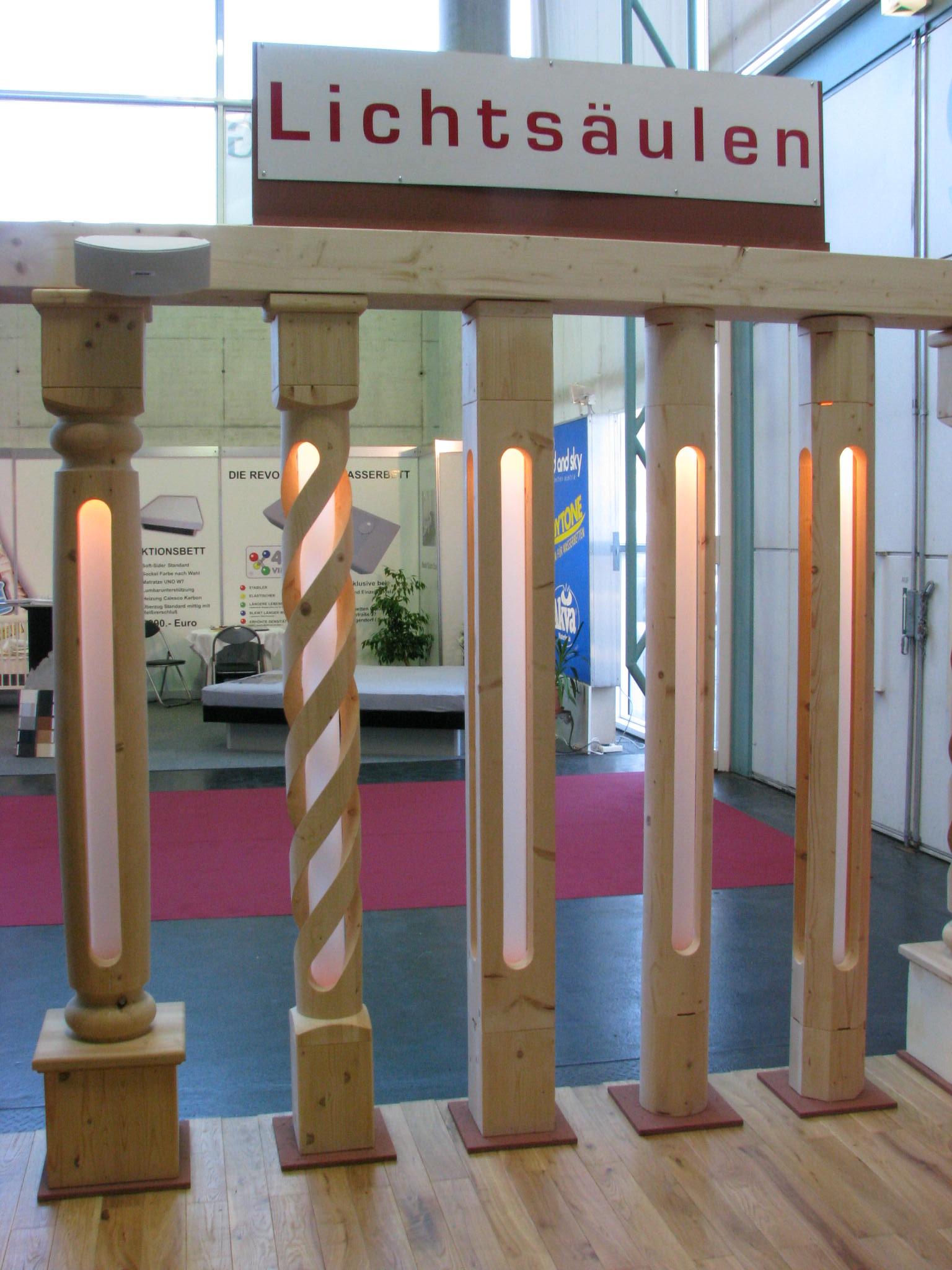 Light Column With Led