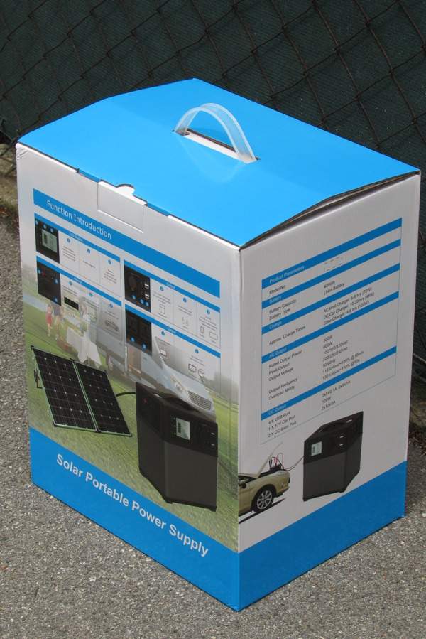 PPS - Portable power supply in stable packaging In a box, in which the box fits exactly with the device, it arrives. Picture 1